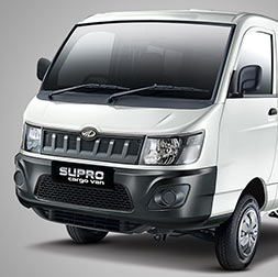 Mahindra Supro Cargo Van Front Side View